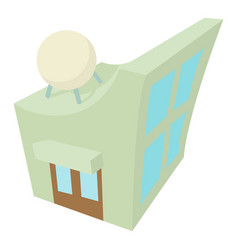Observatory icon cartoon style vector
