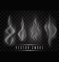 smoke collection vector image