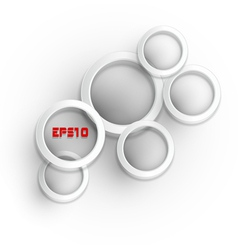 abstract round modern elements vector image vector image