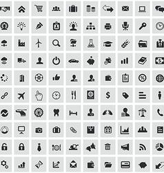 100 b2b icons vector