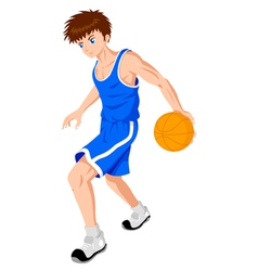 Basket Ball Player vector image