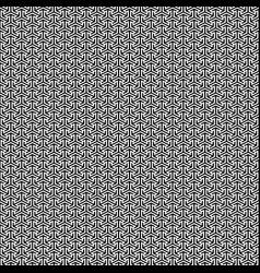 Black white interlocking arrow shapes seamless vector