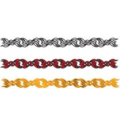 Chain dividing line vector