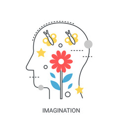 imagination concept vector image