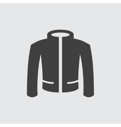Jacket icon vector image