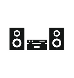 Stereo icon in on white background vector