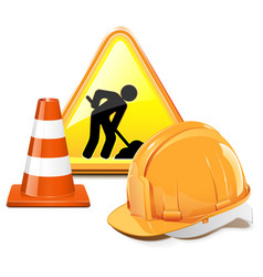 Under Construction Concept vector image vector image