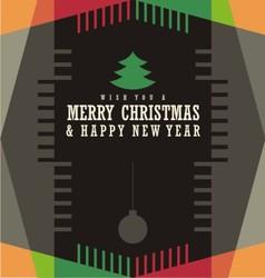 Christmas card design concept vector