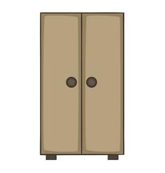 Cupboard icon cartoon style vector