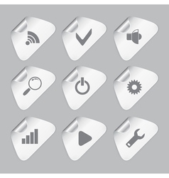 Editor tools icon set vector