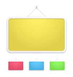 empty tablet vector image
