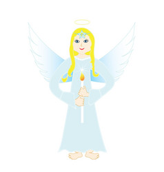 Heavenly angel vector