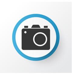 photo apparatus icon symbol premium quality vector image