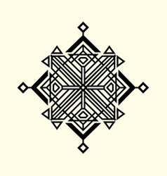 sacred geometry 0054 vector image