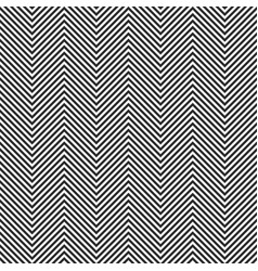 zigzag stripes seamless pattern chevron texture vector image