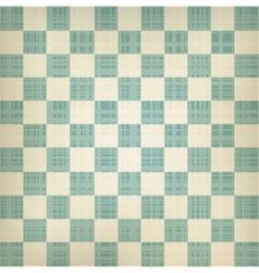 Grunge chessboard background vector image vector image