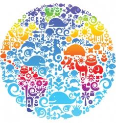environmental concept earth vector image