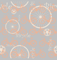 bicycle-list-01 vector image