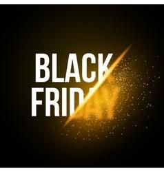 Black Friday Sale Exlosion Poster Huge November vector image