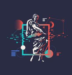 Caesar emblem vector