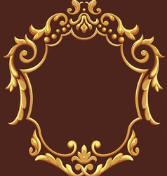 Golden Royal Ornament vector image