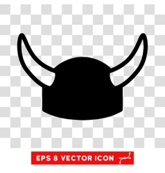 Horned Helmet Eps Icon vector