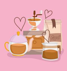 International coffee day vector