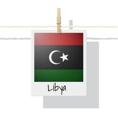 Photo libya flag vector