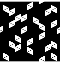 Rhombus white seamless pattern vector image