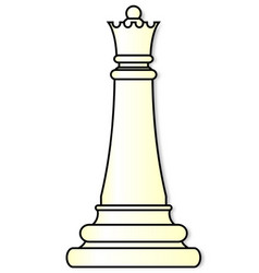 White queen vector