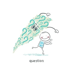 Questions vector image vector image