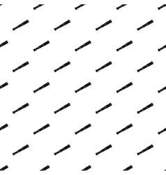 Antique telescope pattern simple style vector