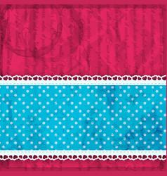 bright pink valentine background vector image