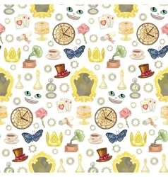 Fairy Tale Seamless Pattern vector image
