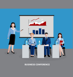 human resources background vector image