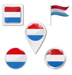Netherlands flag holland patriotism vector