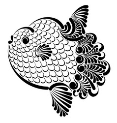 Ocean sunfish vector