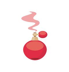paris perfume bottle icon vector image