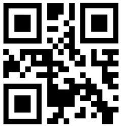 Qr code says BONUS vector image