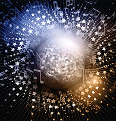 Mirror ball background 3006 vector image