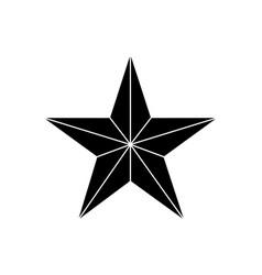 Star award medal vector