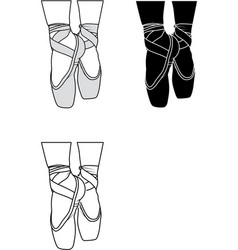 Balletshoes vector