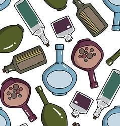 bottlespattern vector image