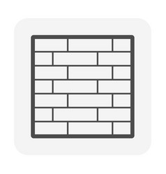 brick wall or architectural decoration material vector image