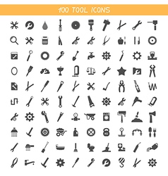 Collection tool icons vector image