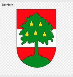 Emblem of dornbirn vector
