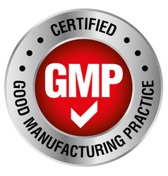Gmp good manufacturing practice vector
