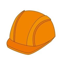 Helmet protection equipment vector