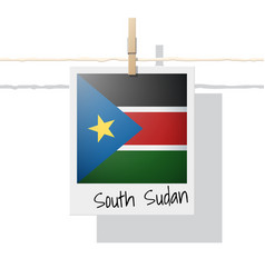Photo of south sudan flag vector