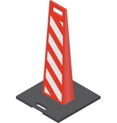 Red Traffic Cones vector image